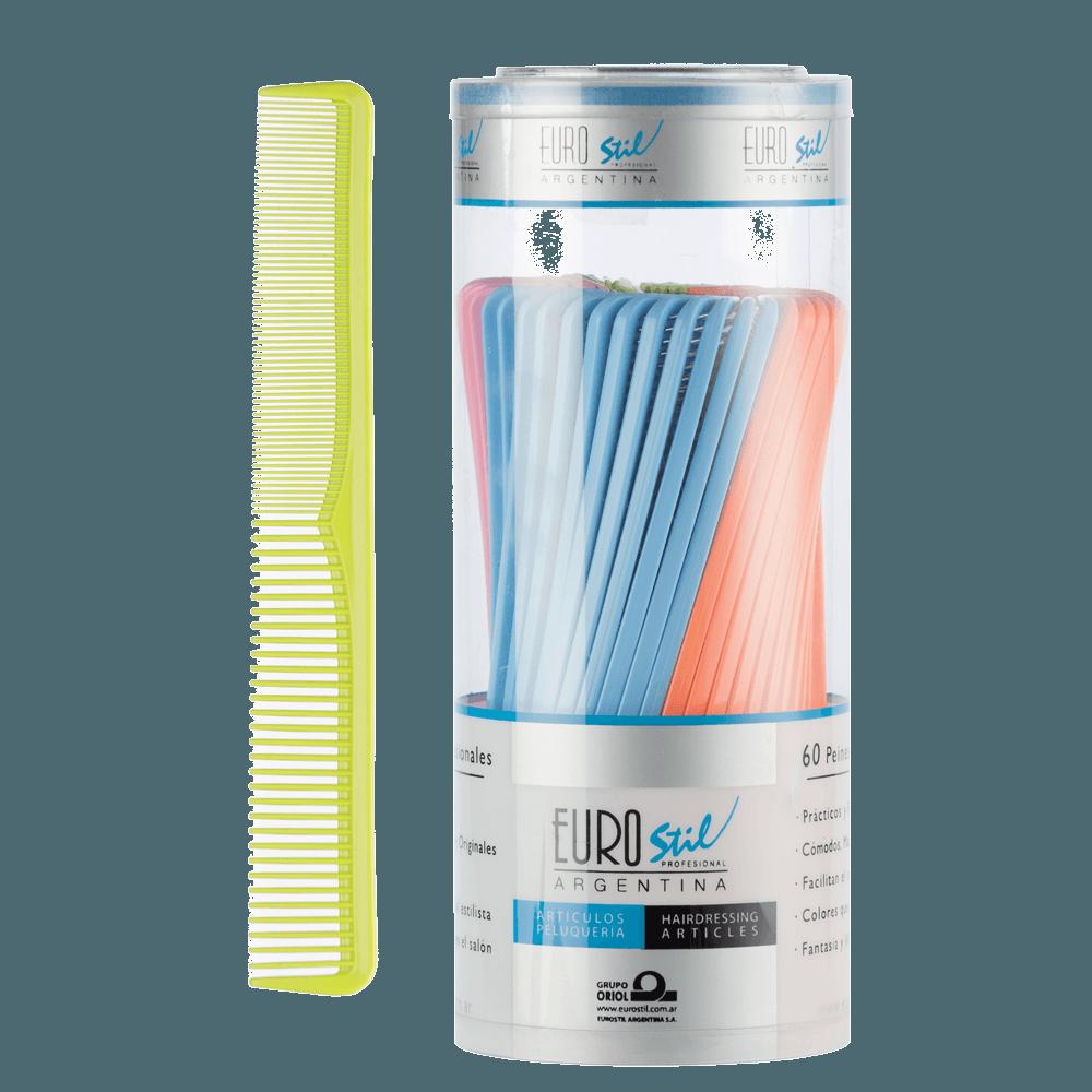 Peine batidor colores flúo #53845