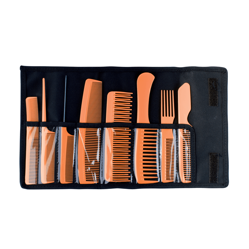 Set peine profesional peluquero con estuche #50664